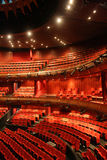 Red concert hall Royalty Free Stock Photo