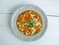 Red Conch Chowder. Bahamian Red Conch Chowder .Caribbean cuisine Royalty Free Stock Images