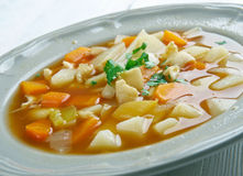 Red Conch Chowder Stock Photo