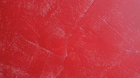 Red concrete wall - abstract background, design of interior.