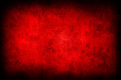 Red concrete wall Stock Photography