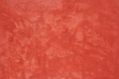 Red concrete wall texture Stock Photography