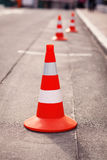 Red cone Royalty Free Stock Photography