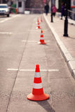 Red cone Stock Image