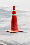 Red Cone rubber Stock Image