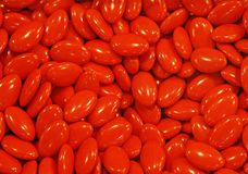 Red confetti for all occasions. Background of red confetti for all occasions Royalty Free Stock Photos