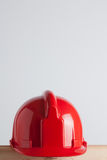 Red construction helmet Stock Photography