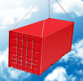 The red container Stock Photography