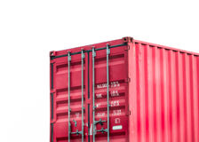 Red container Stock Image