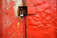 Red container Royalty Free Stock Photography