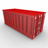 Red container Royalty Free Stock Images