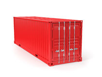 Red Container Royalty Free Stock Photo