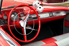 Red convertible Royalty Free Stock Photos