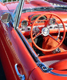 Red Convertible Vintage Car Stock Photography