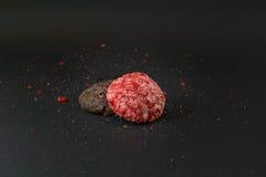 Red cookies. Stock Photos