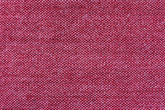 Red cooton fabric texture Stock Photography