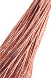 Red copper wire Stock Photography