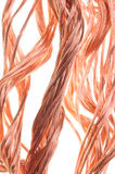 Red copper wire Stock Image