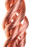 Red copper wire industry Royalty Free Stock Image