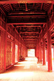 Red corridor. A photo of Red Corridor Royalty Free Stock Image