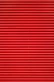 Red corrugated iron Royalty Free Stock Photo