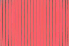 Red corrugated metal sheet texture background Royalty Free Stock Photos