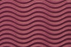 Red corrugated paper Royalty Free Stock Photography