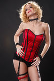 Red corset Royalty Free Stock Photography