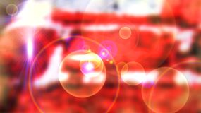 Red cosmic background Royalty Free Stock Photo