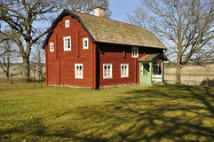 Red Cottage Royalty Free Stock Images