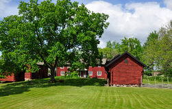 Red cottage Royalty Free Stock Image