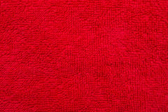 Red Cotton Cloth Material Royalty Free Stock Images