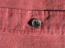 Red cotton fabric texture background Stock Photography