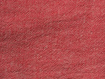 Red cotton fabric texture background Stock Photo
