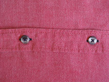 Red cotton fabric texture background Royalty Free Stock Image