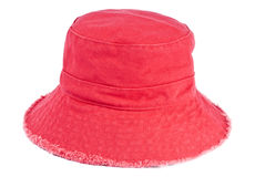 Red Cotton Hat Stock Photos