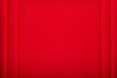 Red cotton mat texture or background Stock Photography