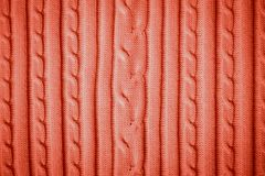 Red cotton pattern. stock images