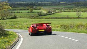 Red Countach Stock Images