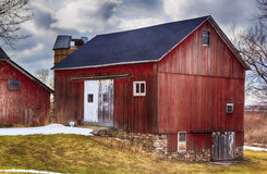 Red Country Barn Stock Images