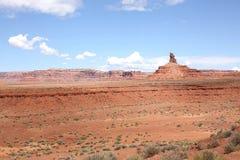 Red country in Utah, USA. Red desert in Utah, United States of America Royalty Free Stock Image