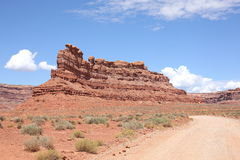Red country in Utah, USA. Red desert in Utah, United States of America Stock Photography