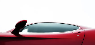 Red coupe Royalty Free Stock Photo