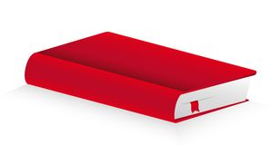 Red cover book Royalty Free Stock Photo