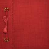 Red Cover For An Album Royalty Free Stock Images