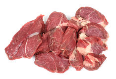 Red cow meat Royalty Free Stock Photo