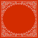 Red cowboy bandanna Royalty Free Stock Photography