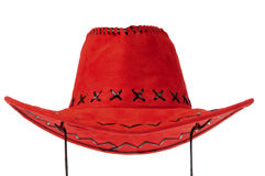 Red Cowboy Hat Stock Images