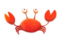 Red crab Stock Images
