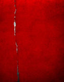 Red cracked paper Royalty Free Stock Photography